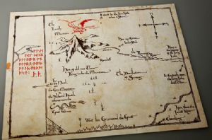 The Hobbit - Sorin Treasure Map